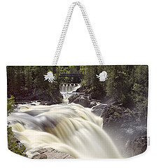 Coulonge Falls Weekender Tote Bag by Eunice Gibb