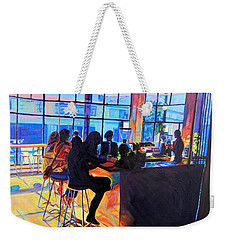 Counterpoint Weekender Tote Bag by Bonnie Lambert