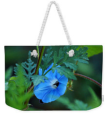 Country Blue Weekender Tote Bag by Kim Pate