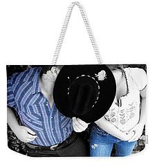 Country Kissin Weekender Tote Bag