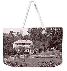 Weekender Tote Bag featuring the photograph Country Life by Denise Romano