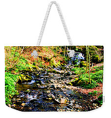 Weekender Tote Bag featuring the photograph Country Life by Doc Braham