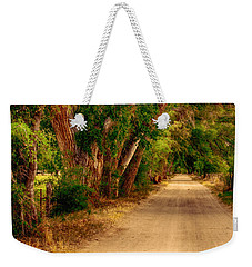 Country Road Weekender Tote Bag
