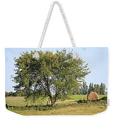 Weekender Tote Bag featuring the photograph Country Scene by Penny Meyers