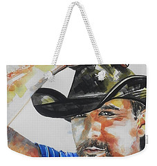 Country Singer Tim Mcgraw 02 Weekender Tote Bag