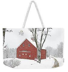 Country Snow Weekender Tote Bag