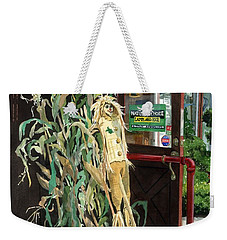 Weekender Tote Bag featuring the painting Country Store by Barbara Jewell