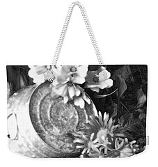 Country Summer - Bw 03 Weekender Tote Bag