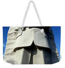 Weekender Tote Bag featuring the photograph Courage by Suzanne Stout