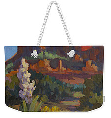 Courthouse Rock Sedona Weekender Tote Bag by Diane McClary
