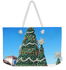 Courtyard Christmas Weekender Tote Bag