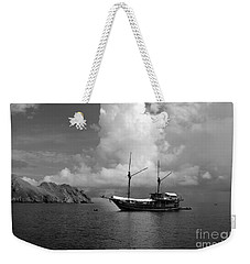 Weekender Tote Bag featuring the photograph Cove  by Sergey Lukashin