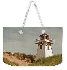 Covehead Lighthouse 3 Weekender Tote Bag by WB Johnston