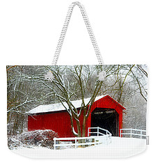 Cover Bridge Beauty Weekender Tote Bag