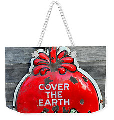 Cover The Earth Weekender Tote Bag