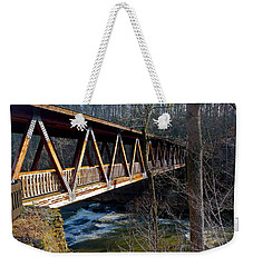 Covered Bridge In Roswell Weekender Tote Bag