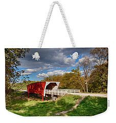 Covered Bridge Weekender Tote Bag by Sennie Pierson