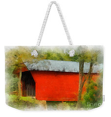 Covered Bridge - Sinking Creek Weekender Tote Bag