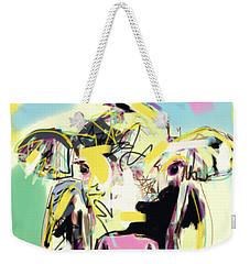 Cow- Happy Cow Weekender Tote Bag