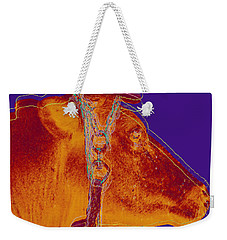 Cow Pop Art Weekender Tote Bag
