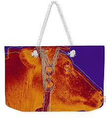Cow Pop Art Weekender Tote Bag