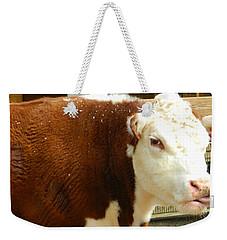 Cow Lickin' Good Weekender Tote Bag
