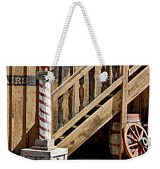 Cowboy Barbershop Weekender Tote Bag