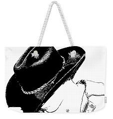 Cowboy Weekender Tote Bag by Jennifer Muller