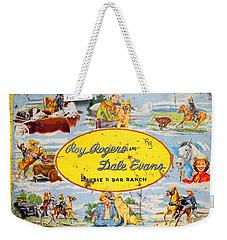 Cowboy Lunchbox Weekender Tote Bag