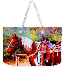 Cowgirl Up Weekender Tote Bag