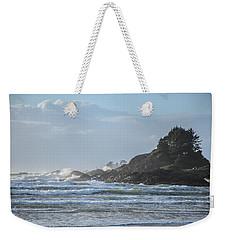 Cox Bay Afternoon Waves Weekender Tote Bag