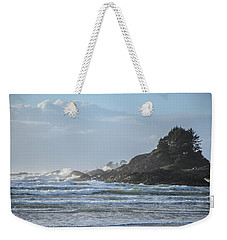 Cox Bay Afternoon Waves Weekender Tote Bag by Roxy Hurtubise
