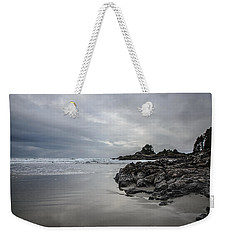 Cox Bay Afternoon  Weekender Tote Bag by Roxy Hurtubise