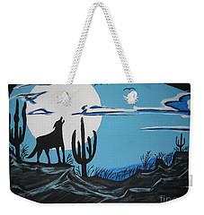 Coyote Weekender Tote Bag by Jeffrey Koss