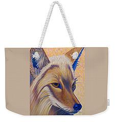 Coyote Summer Weekender Tote Bag