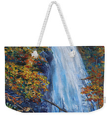 Crab Apple Falls Weekender Tote Bag