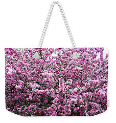Crab Apple Tree Weekender Tote Bag by Aimee L Maher Photography and Art Visit ALMGallerydotcom