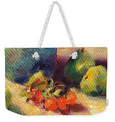 Crab Apples And Pears Weekender Tote Bag