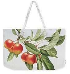 Crab Apples Weekender Tote Bag