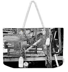 Crab Fishermans Still Life Weekender Tote Bag