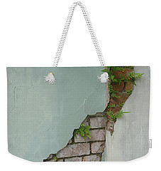 Weekender Tote Bag featuring the photograph Cracked by Valerie Reeves