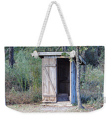Cracker Out House Weekender Tote Bag by D Hackett