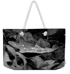 Weekender Tote Bag featuring the photograph Cradle by Viviana  Nadowski