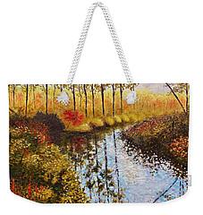 Cranberry Bog Weekender Tote Bag by Jason Williamson