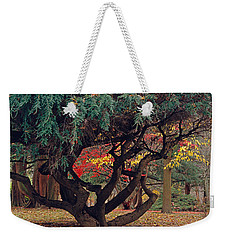 Cranbury Monkey Puzzle Weekender Tote Bag