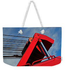 Crane - Photography By William Patrick And Sharon Cummings Weekender Tote Bag by Sharon Cummings