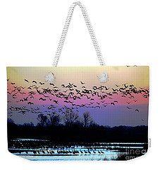 Crane Watch 2013 Weekender Tote Bag