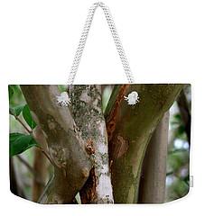 Crape Myrtle Branches Weekender Tote Bag by Peter Piatt