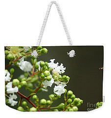 Crape Myrtle Weekender Tote Bag