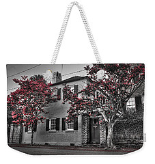 Crape Myrtles In Historic Downtown Charleston 1 Weekender Tote Bag